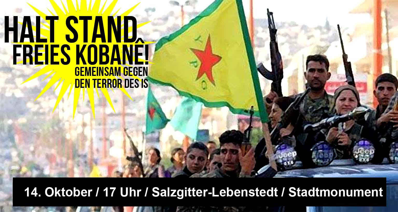 Halt Stand! Freies Kobane!