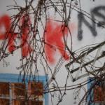 Schmierereien am Antifa-Café
